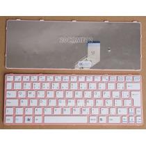 Teclado Branco/rosa Netbook Sony Vaio Sve11 Pn:149037611