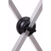 Suporte Pedestal Metalico Ask Para Teclado Em X - Si99