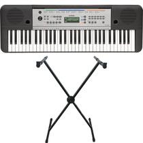Teclado Musical Arranjador Ypt-255 Yamaha + Fonte + Suporte