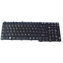 Teclado Toshiba L350 L500 L550 P200 P300 A500 A505 Br Preto