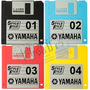 Disquetes Com Ritmos Novos Teclados Yamaha - Frete Gratis!