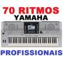 70 Ritmos Yamaha Profissionais 2015 Para Teclados Linha Psr,