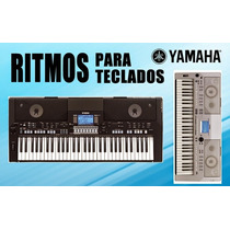 100 Ritmos, Styles Yamaha Atuais + Midis + Programa