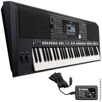 Teclado Musical Yamaha Psr-s950 Arranjador 61 Teclas + Fonte