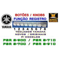 Botão Registro Memoria 1 A 8 - Yamaha Original Psr S710 Novo
