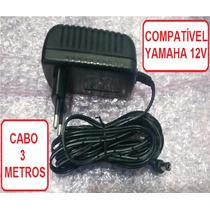 Fonte Teclado Yamaha Psr-420 Especial 2a Plug 90 Graus