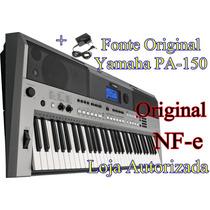 Teclado Yamaha Psr E 443 +fonte Original Nfe Loja Autorizada