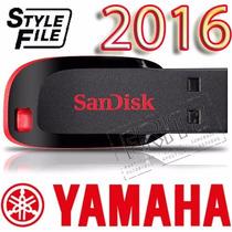 2014 - Pendrive Ritmos Novos Teclados Yamaha - Frete Gratis