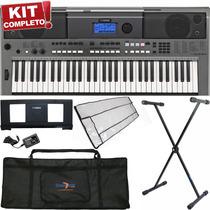 Kit Teclados Musicais 443 Midi Usb Ritmos Sensibilidade