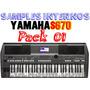 Samples Interno 1 Yamaha S670 + 40 Ritmos Sampleados
