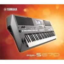 Teclado Musical Psr S670