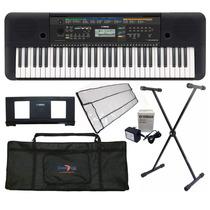 Kit Teclados Musicais Yamaha Iniciante C/ Ritmos Promoção
