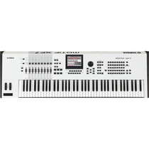 Teclado Yamaha Motif Xf7 Wh Branco Na Loja Cheiro De Musica