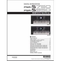 Manual De Serviço Do Teclado Yamaha Psr S950 E S750
