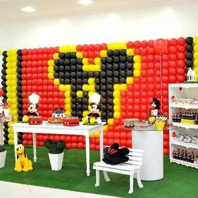 Tela Mágica, Pds, Painel De Balões, Bexigas, Bolas De Festas