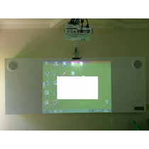 Lousa Interativa Digital Touch (toque) + Projetor + Som