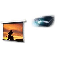 Tela Elétria 100 Polegadas 16x9 Wide Screen Projelift.