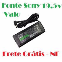Fonte Original Sony Vaio 19,5v - 90w Pcg Vgn Frete Grátis