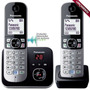 Telefone Fixo Panasonic Kx-tg6822 Sem Fio 1.9ghz + 1 Ramal