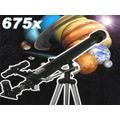 Telescópio / Luneta 675x - Lançamento Com Ocular De 1.25