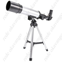 Luneta Telescópio Terrestre Astronômico,zoom 90x Objetiva 50