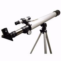 Luneta Telescópio Terrestre Astronômico Refrator 600mm 100x