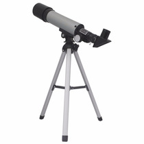 Luneta Telescópio Terrestre E Astronômico - Refrator E Tripé
