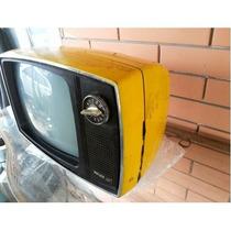 Tv Televisão Antiga Philco Ford Base Giratória Pb Baquelite