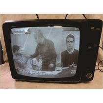 Televisor Antigo Philips 14 Polegadas Funcionando
