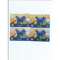 Cartões Telefonicos - Tarjinha De Minas - (8 Cartões) - 6.00