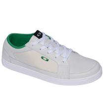 Tênis Oakley Westcliff Branco Com Verde Lançamento