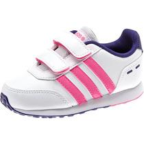 Tenis Infantil Feminino Adidas F98497 Hyperfast Velcro 18a25