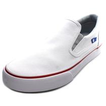 Dc Shoes Sapatos Trase Deslizamento-na Lona Das Mulheres Ska