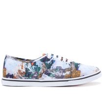 Tênis Vans Authentic Lo Pro Earth Blue True White Vn-0xrngz2