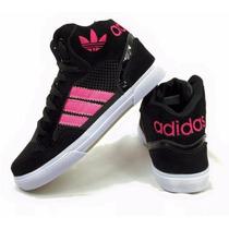 Botinha Adidas Cano Alto Masculino & Feminino Promoção