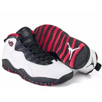 Tênis Nike Air Jordan Retro 10 Chicago 45, A Pronta Entrega.