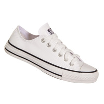 Tênis All Star Converse Em Couro Ct As Malden Ox Branco