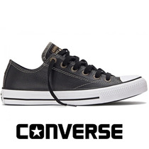 20%off Tênis Converse All-star Couro European Preto Ct328001