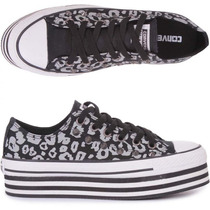 Tênis Converse Ct As Print Plataform Ox N° 37