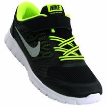 Tênis Infantil Masculino Nike Flex 2015 Preto Snob Calçados