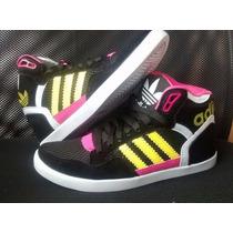 Tenís Adidas Skate Sk8 Preto E Rosa Feminino