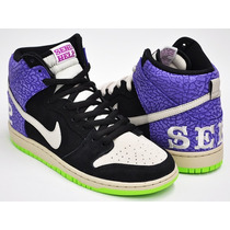 Tênis Nike Dunk High Sb Send Help 2 Nº39 Bra/ 7,5 Usa Novo
