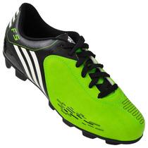 Chuteira Campo Adidas F5 I Trx Hg Verde Limão