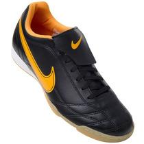 Tênis Futsal Nike Egoli Preto/laranja