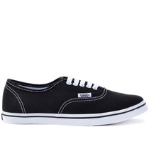 Tênis Vans Authentic Lo Pro Suede Black True White Vn-0gyq6b