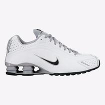 Tênis Nike Shox R4 Branco Original Frete Grátis Promoção