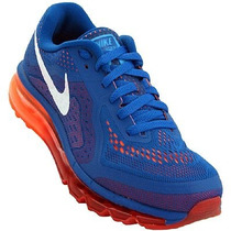 Tenís Nike Air Max 2014 Azul Royal 100% Original Imperdivel
