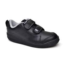 Tênis Infantil Nike Masculino Preto Com Velcro Original
