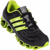 Tênis Adidas Ambition Pb 5 Original Masculino Preto/verde