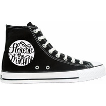 Tênis Florence And The Machine All Star Converse Cano Alto